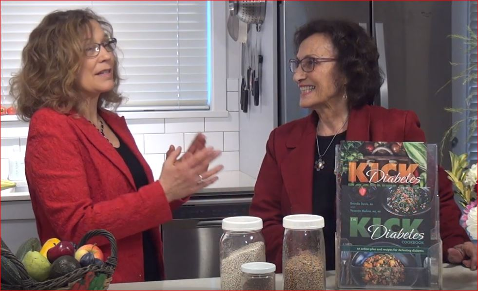 The Kick Diabetes Cookbook Brenda Davis and Vesanto Melina